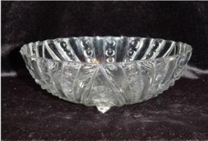 Anchor Hocking 3 Footed Bowl