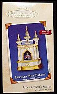 2002 Jewelry Box Ballet Hallmark Ornament (Image1)