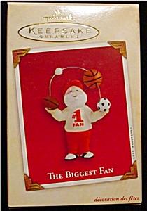 2002 The Biggest Fan Hallmark Ornament (Image1)