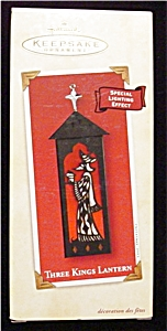2002 Three Kings Lantern Hallmark Ornament (Image1)
