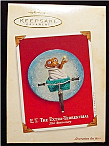 2002 E.T. The Extra-Terrestrial Ornament (Image1)