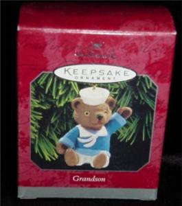 Grandson Hallmark Ornament (Image1)