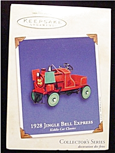 2002 1928 Jingle Bell Express Ornament (Image1)