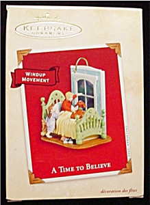 2002 A Time To Beleive Hallmark Ornament (Image1)