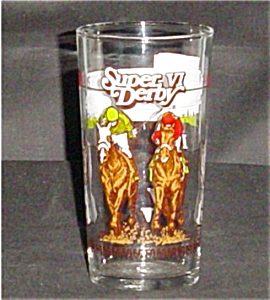 1985 Libbey Louisiana Downs Glass