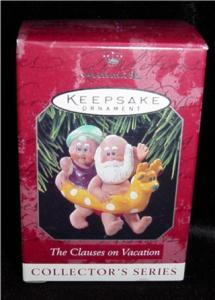The Clause's on Vacation Hallmark Ornament (Image1)