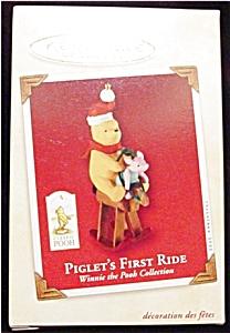 2002 Piglet's First Ride Hallmark Ornament (Image1)