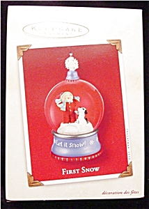 2002 First Snow Hallmark Ornament (Image1)