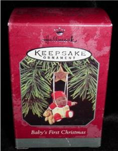 1998 Baby's First Christmas Hallmark Ornament (Image1)