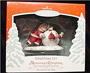 2002 Christmas Joy Hallmark Ornament (Image1)