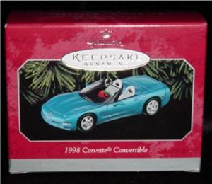 Hallmark Ornament Corvette Convertible 1998 (Image1)