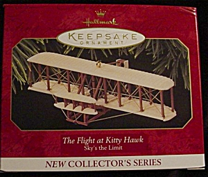 Flight of The Kitty Hawk Hallmark Ornament (Image1)