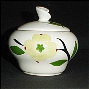 Dogwood Pattern Sugar Bowl (Image1)