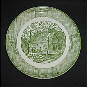 Currier And Ives Dinner Plate (Image1)