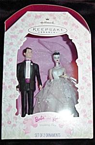 1997 Barbie & Ken Wedding Day Ornament (Image1)