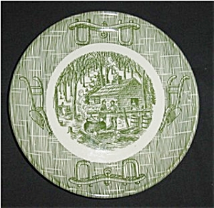 Currier And Ives Bread & Butter Plate (Image1)