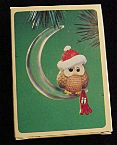 1984 Christmas Owl Hallmark Ornament (Image1)