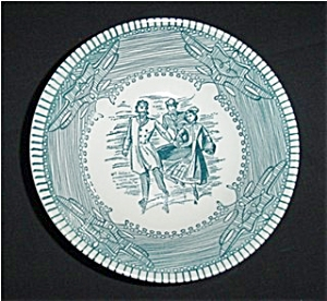 Currier And Ives Small Bowl (Image1)