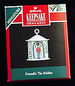 1992 Friendly Tin Soldier Minature Ornament (Image1)