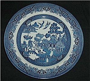 Blue Willow Churchill  Dinner Plate (Image1)