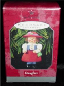 "Hallmark Ornament ""Daughter"" (Image1)"