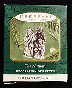 2000 The Nativity Miniature Hallmark Ornament (Image1)