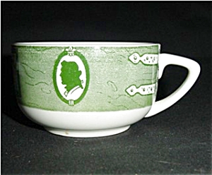 Colonial Homestead Pattern Cup (Image1)