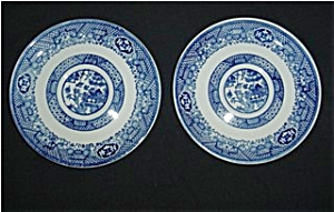 Blue Willow Saucers Set of 2 (Image1)