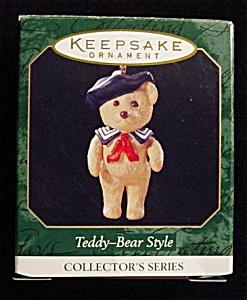 1999 Teddy Bear Style Hallmark Ornament (Image1)