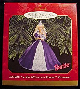 1999 Millennium Princess Barbie Ornament (Image1)