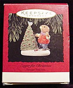 1994 Eager for Christmas Hallmark Ornament (Image1)