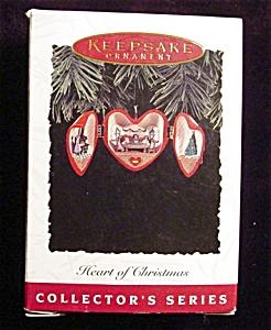 1994 Hearts of Christmas Hallmark Ornament (Image1)