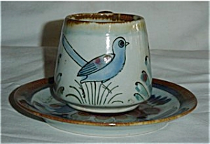 Mexico Bird Cup and Saucer Set (Image1)