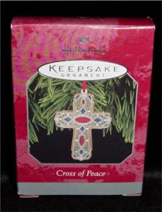 Cross of Peace Hallmark Ornament (Image1)