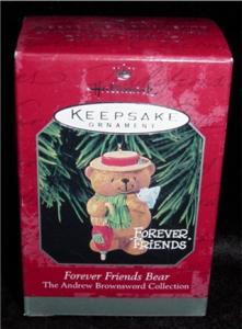 Forever Friends Bear Hallmark Ornament (Image1)