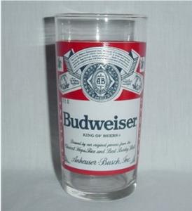 Budweiser Drinking Glass (Image1)