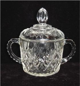 Anchor Hocking Prescut Sugar Bowl