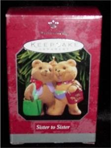 Sister to Sister 1998 Hallmark Ornaments (Image1)