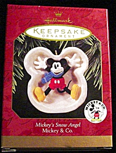 1997 Mickey's Snow Angel Hallmark Ornament (Image1)