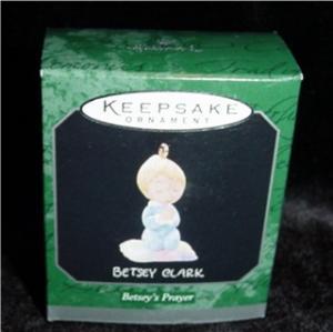Betsey's Prayer Mini Hallmark Ornament (Image1)