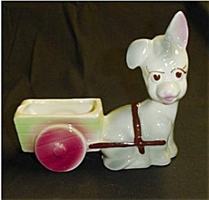 Donkey Pulling Cart Planter (Image1)
