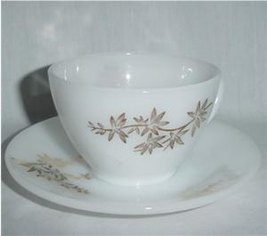 Federal Golden Glory Cup & Saucer
