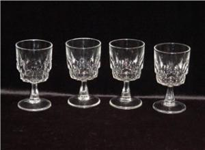Arcoroc Footed Wine Glasses (Image1)