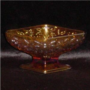 Indiana Glass Marigold Candy Dish