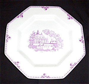 1776 Independence Ironstone Plate (Image1)