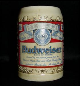 Budweiser Beer Stein (Image1)