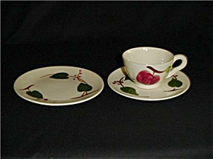 Blue Ridge Bread & Butter Plate/cup & Saucer