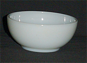 Fire King White Cereal Bowl (Image1)