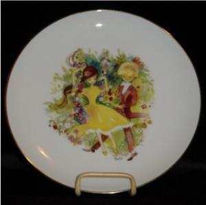 Otco Bavarian Boy & Girl Plate