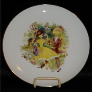 Otco Bavarian Boy & Girl Plate (Image1)
